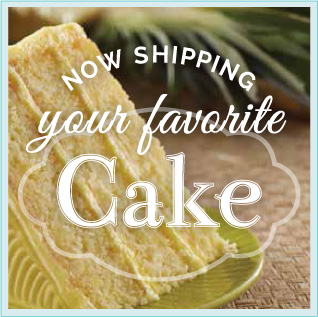 Now shipping your favorite cake!
