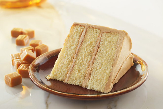 Cake Images Piece : Caramel Layer Cake - Piece of Cake