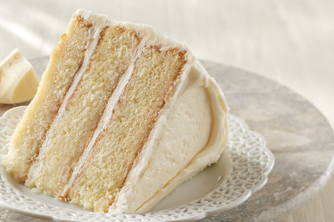 Cream Cheese Yellow Layer Cake