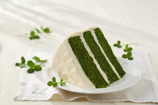 Green Velvet Layer Cake