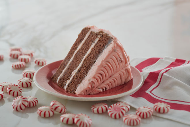 Peppermint Layer Cake