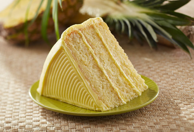 pineapple layer cake one bite of this moist pineapple layer cake will ...