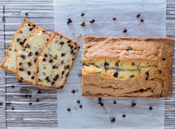 Chocolate Chip Pound Cake Loaf