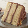 Chocolate and Peanut Butter Layer Cake