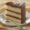 Yellow Chocolate Layer Cake
